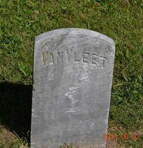 VANVLEET, UNKNOWN - Hillsdale County, Michigan | UNKNOWN VANVLEET - Michigan Gravestone Photos