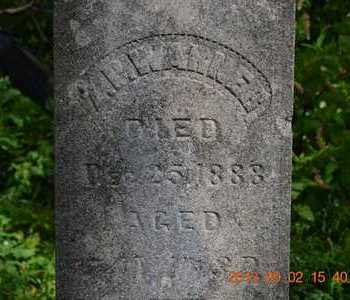 WARNER, Z.P. - Hillsdale County, Michigan | Z.P. WARNER - Michigan Gravestone Photos