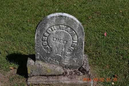 WARWICK, JOSEPH - Hillsdale County, Michigan | JOSEPH WARWICK - Michigan Gravestone Photos