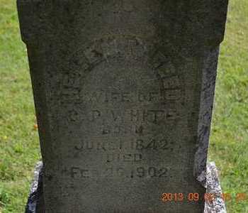WHITE, HELEN M. - Hillsdale County, Michigan | HELEN M. WHITE - Michigan Gravestone Photos