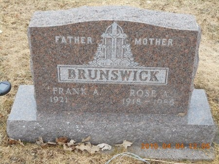 BRUNSWICK, ROSE A. - Iron County, Michigan | ROSE A. BRUNSWICK - Michigan Gravestone Photos