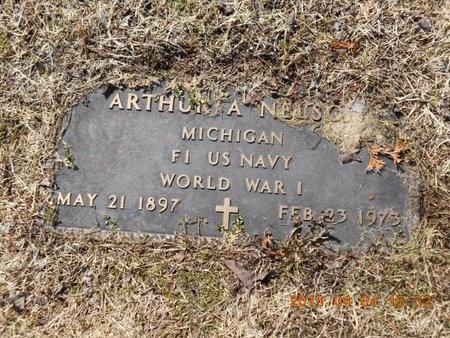 NELSON, ARTHUR A. - Iron County, Michigan | ARTHUR A. NELSON - Michigan Gravestone Photos