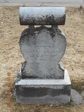NELSON, HILDA J. - Iron County, Michigan   HILDA J. NELSON - Michigan Gravestone Photos