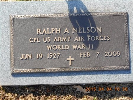 NELSON, RALPH A. - Iron County, Michigan | RALPH A. NELSON - Michigan Gravestone Photos