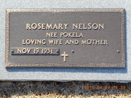 NELSON, ROSEMARY - Iron County, Michigan   ROSEMARY NELSON - Michigan Gravestone Photos