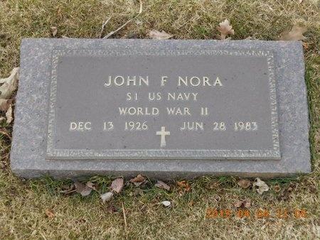 NORA, JOHN F. - Iron County, Michigan | JOHN F. NORA - Michigan Gravestone Photos