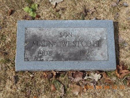 WESTCOTT, ALVIN - Iron County, Michigan | ALVIN WESTCOTT - Michigan Gravestone Photos