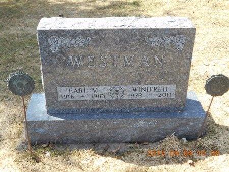 WESTMAN, WINIFRED - Iron County, Michigan | WINIFRED WESTMAN - Michigan Gravestone Photos