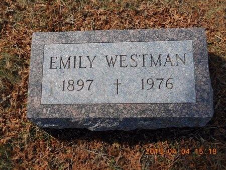 WESTMAN, EMILY - Iron County, Michigan   EMILY WESTMAN - Michigan Gravestone Photos