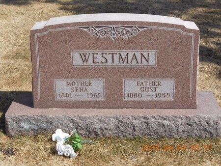 WESTMAN, SENA - Iron County, Michigan | SENA WESTMAN - Michigan Gravestone Photos