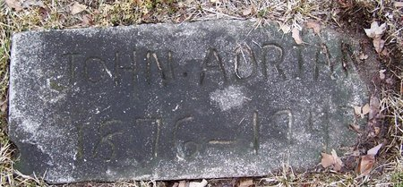 ADRIAN, JOHN - Kalamazoo County, Michigan   JOHN ADRIAN - Michigan Gravestone Photos