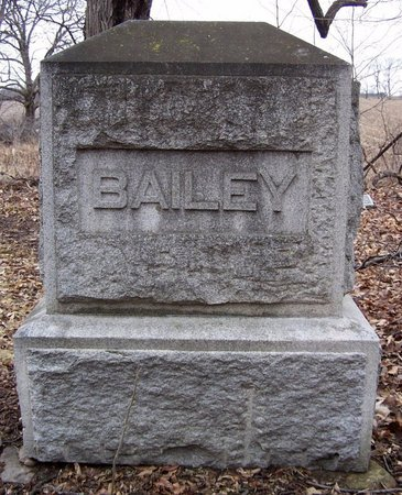 BAILEY, FAMILY MARKER - Kalamazoo County, Michigan | FAMILY MARKER BAILEY - Michigan Gravestone Photos