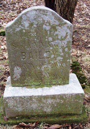 BAILEY, IVAN - Kalamazoo County, Michigan | IVAN BAILEY - Michigan Gravestone Photos