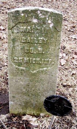 BAILEY, MARTIN - Kalamazoo County, Michigan   MARTIN BAILEY - Michigan Gravestone Photos