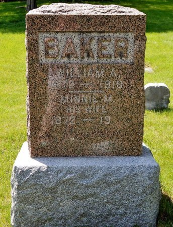 BAKER, WILLIAM - Kalamazoo County, Michigan | WILLIAM BAKER - Michigan Gravestone Photos