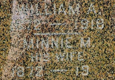 BAKER, MINNIE - Kalamazoo County, Michigan | MINNIE BAKER - Michigan Gravestone Photos