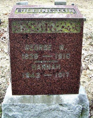 BILLINGTON, GEORGE E. - Kalamazoo County, Michigan | GEORGE E. BILLINGTON - Michigan Gravestone Photos
