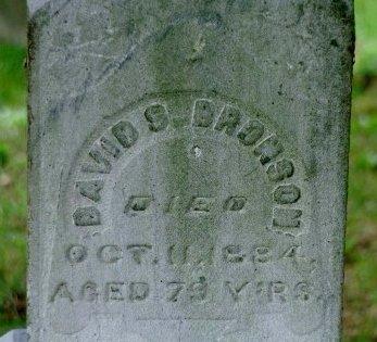 BRONSON, DAVID - Kalamazoo County, Michigan   DAVID BRONSON - Michigan Gravestone Photos