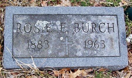 BURCH, ROSIE - Kalamazoo County, Michigan | ROSIE BURCH - Michigan Gravestone Photos