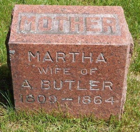 BUTLER, MARTHA - Kalamazoo County, Michigan | MARTHA BUTLER - Michigan Gravestone Photos