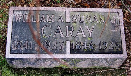 CARAY, SUSAN - Kalamazoo County, Michigan | SUSAN CARAY - Michigan Gravestone Photos
