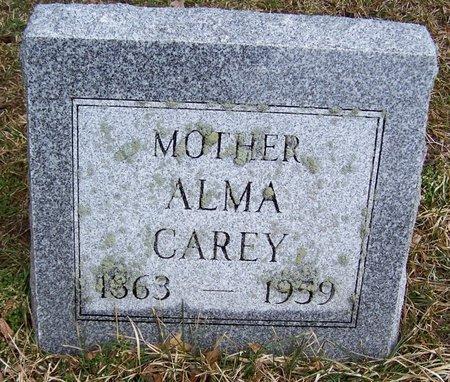 CAREY, ALMA - Kalamazoo County, Michigan   ALMA CAREY - Michigan Gravestone Photos