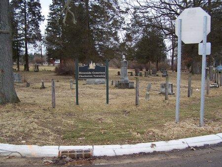 CEMETERY, RIVERSIDE/CHARLESTON TOWNSHIP - Kalamazoo County, Michigan | RIVERSIDE/CHARLESTON TOWNSHIP CEMETERY - Michigan Gravestone Photos