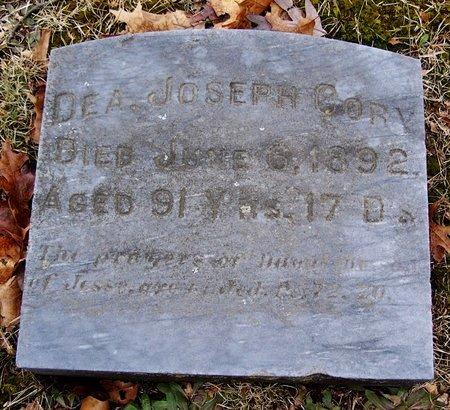 CORY, JOSEPH DEA. - Kalamazoo County, Michigan | JOSEPH DEA. CORY - Michigan Gravestone Photos