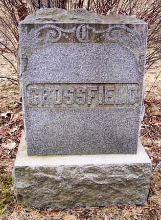 CROSSFIELD, FAMILY MARKER - Kalamazoo County, Michigan | FAMILY MARKER CROSSFIELD - Michigan Gravestone Photos