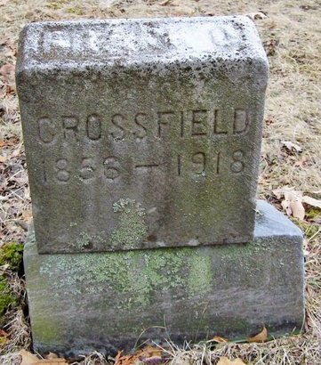 CROSSFIELD, FRANK - Kalamazoo County, Michigan | FRANK CROSSFIELD - Michigan Gravestone Photos
