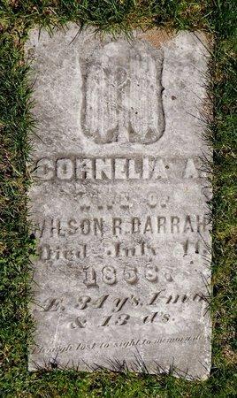 DARRAH, CORNELIA - Kalamazoo County, Michigan   CORNELIA DARRAH - Michigan Gravestone Photos