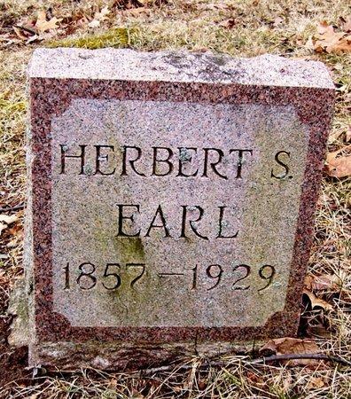 EARL, HERBERT S. - Kalamazoo County, Michigan | HERBERT S. EARL - Michigan Gravestone Photos