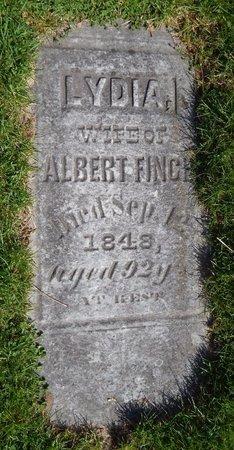 FINCH, LYDIA - Kalamazoo County, Michigan | LYDIA FINCH - Michigan Gravestone Photos