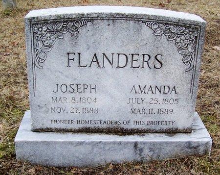 FLANDERS, JOSEPH - Kalamazoo County, Michigan   JOSEPH FLANDERS - Michigan Gravestone Photos