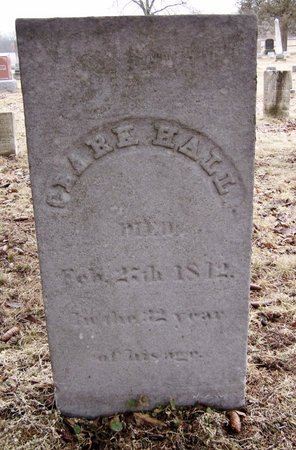 HALL, CLARK - Kalamazoo County, Michigan | CLARK HALL - Michigan Gravestone Photos