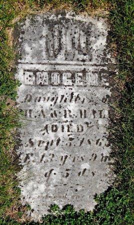 HALL, EMOGENE - Kalamazoo County, Michigan | EMOGENE HALL - Michigan Gravestone Photos