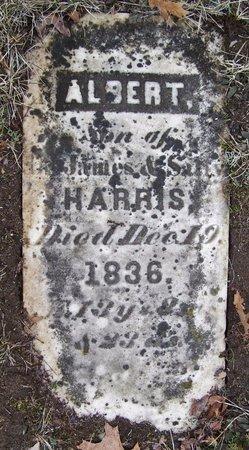 HARRIS, ALBERT - Kalamazoo County, Michigan | ALBERT HARRIS - Michigan Gravestone Photos