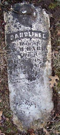 HARRIS, CAROLINE - Kalamazoo County, Michigan   CAROLINE HARRIS - Michigan Gravestone Photos