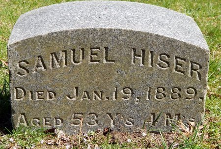 HISER, SAMUEL - Kalamazoo County, Michigan | SAMUEL HISER - Michigan Gravestone Photos