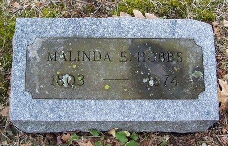 HOBBS, MALINDA - Kalamazoo County, Michigan   MALINDA HOBBS - Michigan Gravestone Photos
