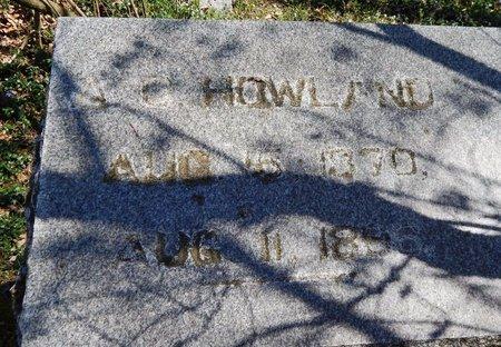 HOWLAND, ALBERT O. - Kalamazoo County, Michigan | ALBERT O. HOWLAND - Michigan Gravestone Photos
