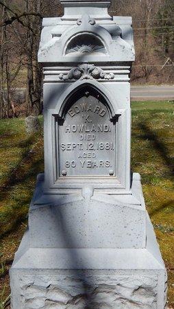 HOWLAND, EDWARD K. - Kalamazoo County, Michigan | EDWARD K. HOWLAND - Michigan Gravestone Photos