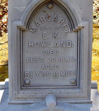 HOWLAND, MARGARET W. - Kalamazoo County, Michigan   MARGARET W. HOWLAND - Michigan Gravestone Photos