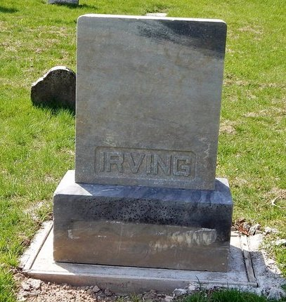 IRVING, FAMILY MARKER - Kalamazoo County, Michigan | FAMILY MARKER IRVING - Michigan Gravestone Photos