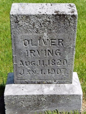 IRVING, OLIVER - Kalamazoo County, Michigan | OLIVER IRVING - Michigan Gravestone Photos