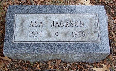 JACKSON, ASA - Kalamazoo County, Michigan | ASA JACKSON - Michigan Gravestone Photos