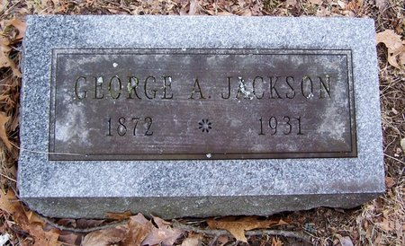 JACKSON, GEORGE - Kalamazoo County, Michigan | GEORGE JACKSON - Michigan Gravestone Photos