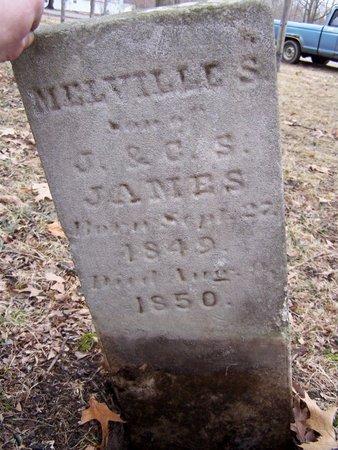 JAMES, MELVILLE S. - Kalamazoo County, Michigan | MELVILLE S. JAMES - Michigan Gravestone Photos