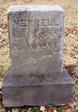 MERRELL, HARRIET - Kalamazoo County, Michigan | HARRIET MERRELL - Michigan Gravestone Photos