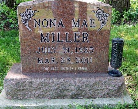 MILLER, NONA - Kalamazoo County, Michigan | NONA MILLER - Michigan Gravestone Photos